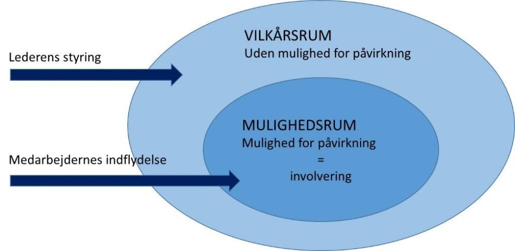 Figur 3. Vilkårsrum og mulighedsrum.[3]