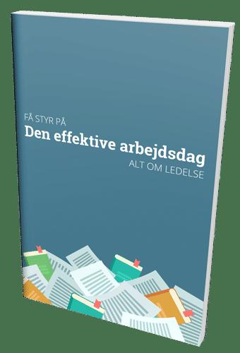 Køb bogen 'Få styr på den effektive arbejdsdag' lige her.